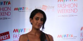Lisa Haydon at Myntra Fashion Weekend preview