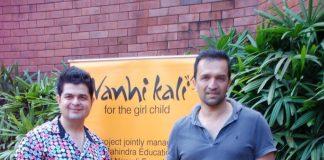 Atul Kasbekar and Dabboo Ratnani at Nanhi Kali event