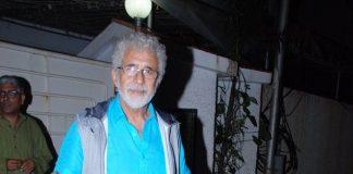 Naseeruddin Shah at Finding Fanny screening