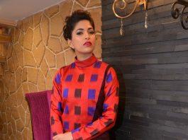 Parvathy Omanakuttan poses for designer Shruti Sancheti – Photos