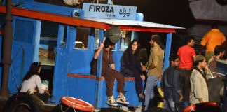 Katrina Kaif and Saif Ali Khan shoot for 'Phantom'