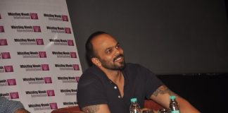 Rohit Shetty attends masterclass at Whistling Woods International mumbai