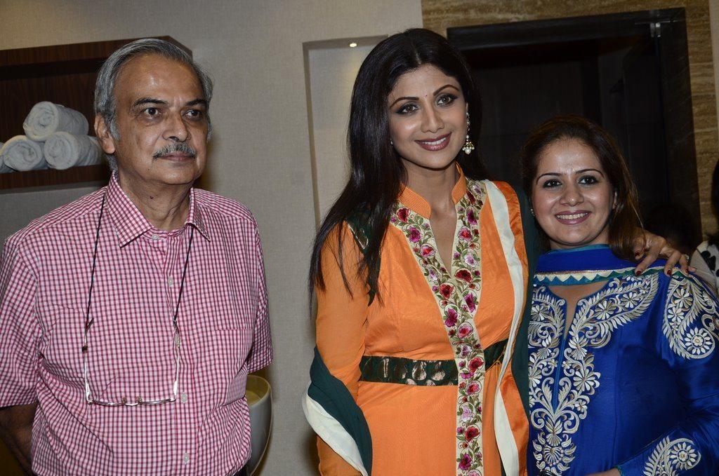 shilpa shetty spa launch (2)