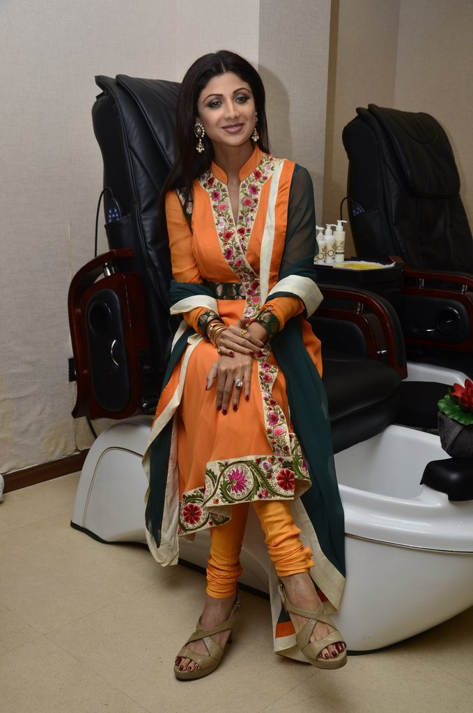 shilpa shetty spa launch (5)