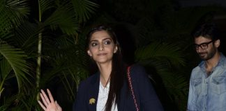 Sonam Kapoor and Fawad Khan return from Indore