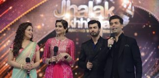 Sonam Kapoor and Fawad Khan promote 'Khoobsurat' on 'Jhalak Dikhhla Jaa' – Photos