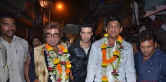 Shakti Kapoor campaigns for Aslam Sheikh for assembly elections
