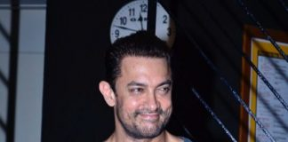Aamir Khan sighted at Prithvi Theatre