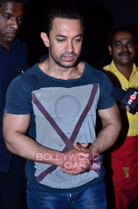 Aamir khan at prithvi theatre