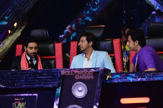 Abhishek Indias raw star judge-6