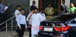 Aditya Thackeray leaves for Nasik