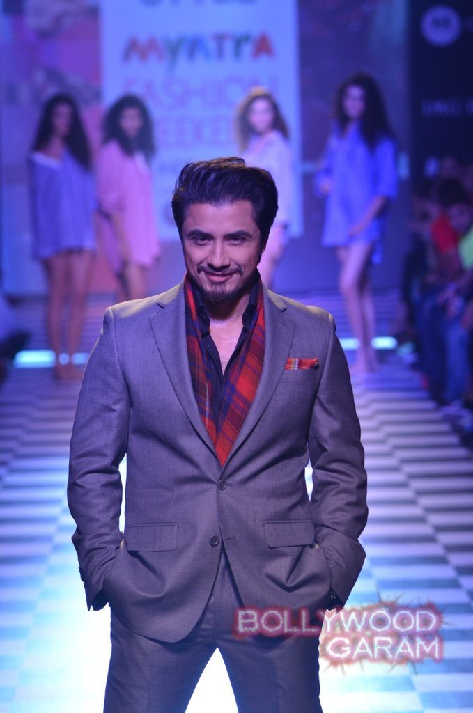 Ali Zafar Myntra Fashion Weekend 2014-1