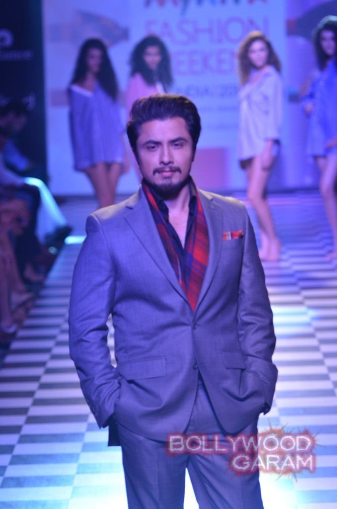 Ali Zafar Myntra Fashion Weekend 2014-2