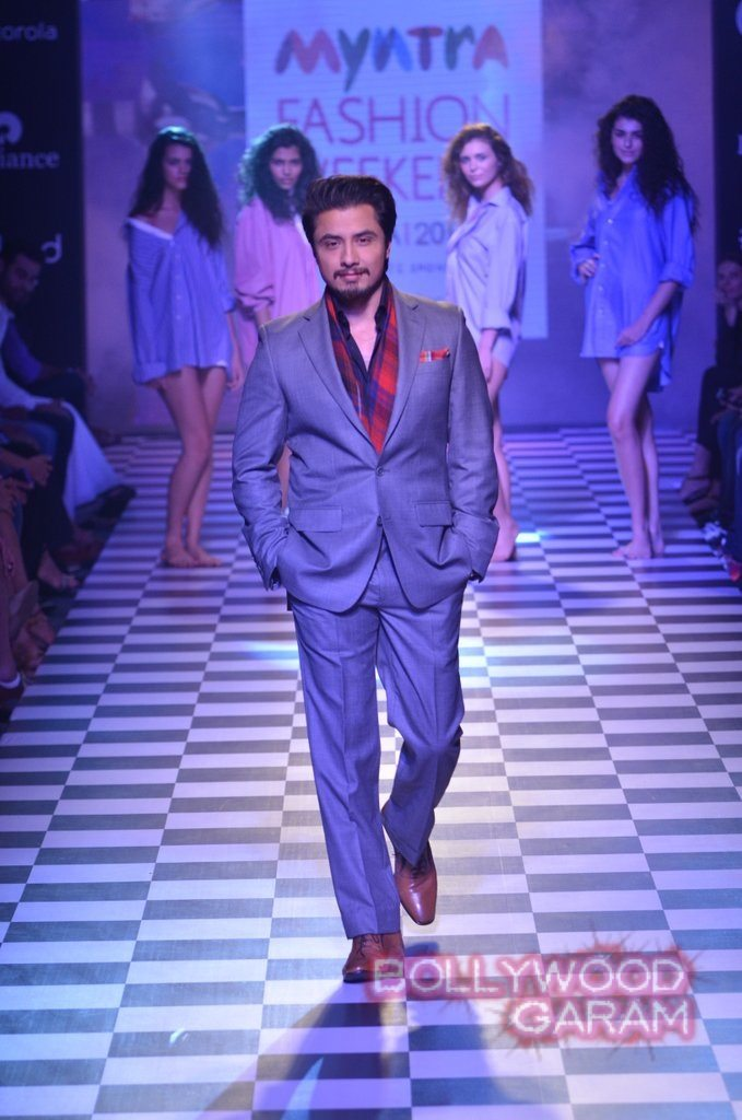 Ali Zafar Myntra Fashion Weekend 2014-4