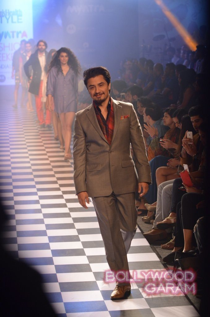 Ali Zafar Myntra Fashion Weekend 2014-6