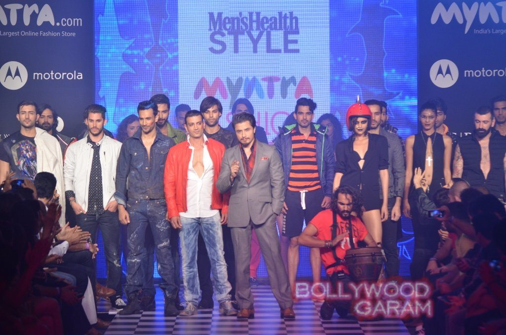 Ali Zafar Myntra Fashion Weekend 2014-7