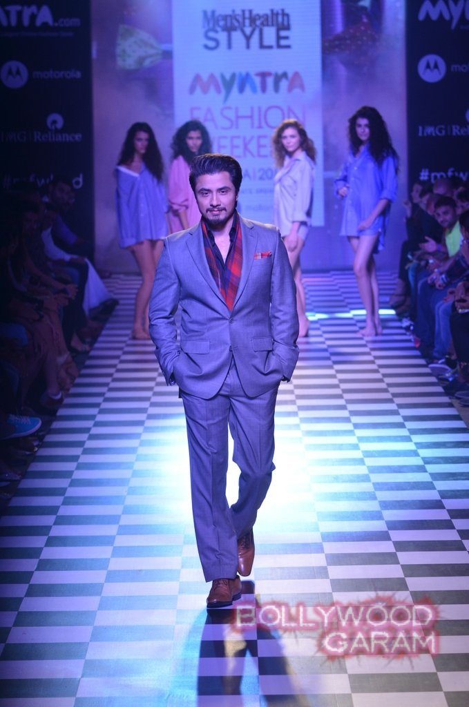 Ali Zafar Myntra Fashion Weekend 2014