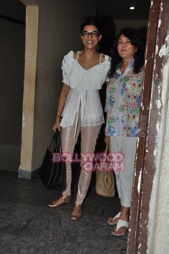 Alia and Sushmita at PVR-6
