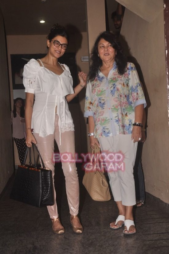 Alia and Sushmita at PVR-8