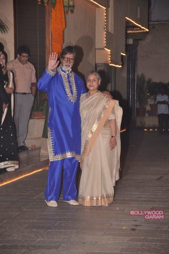Amitabh Bachchan Diwali Party-18
