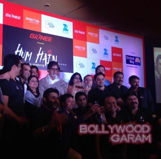 Amitabh Bachchan J&K charity