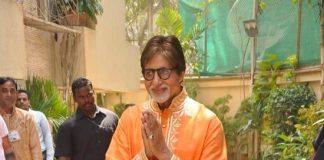 Amitabh Bachchan celebrates 72nd birthday with the media