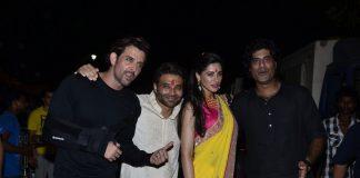Bachchans host a gala Diwali bash