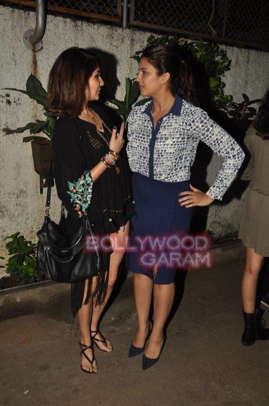 Anushka and Huma_gone girl screening-4