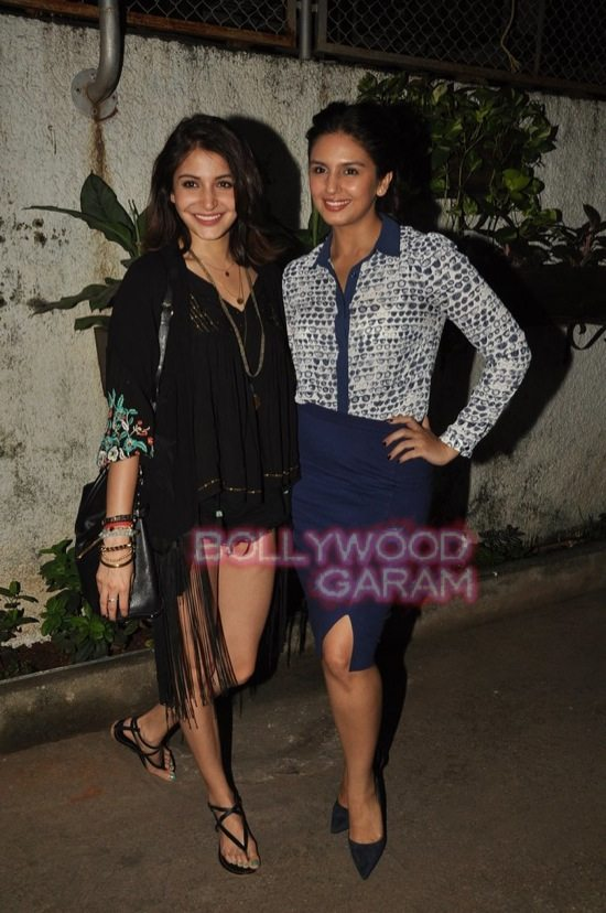 Anushka and Huma_gone girl screening-5