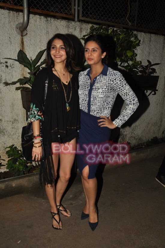 Anushka and Huma_gone girl screening-6