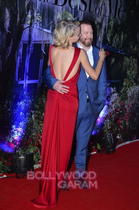 Best of me premiere mumbai_Michelle Monoghan and James M-1
