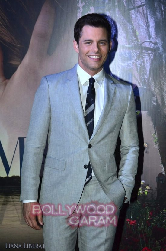 Best of me premiere mumbai_Michelle Monoghan and James M-11