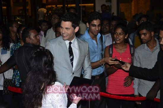 Best of me premiere mumbai_Michelle Monoghan and James Marsden-2