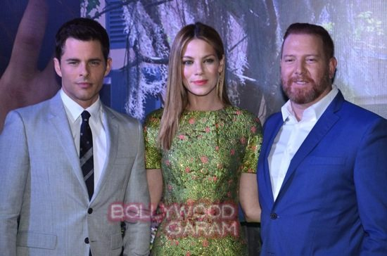 Best of me premiere mumbai_Michelle Monoghan and James M-3