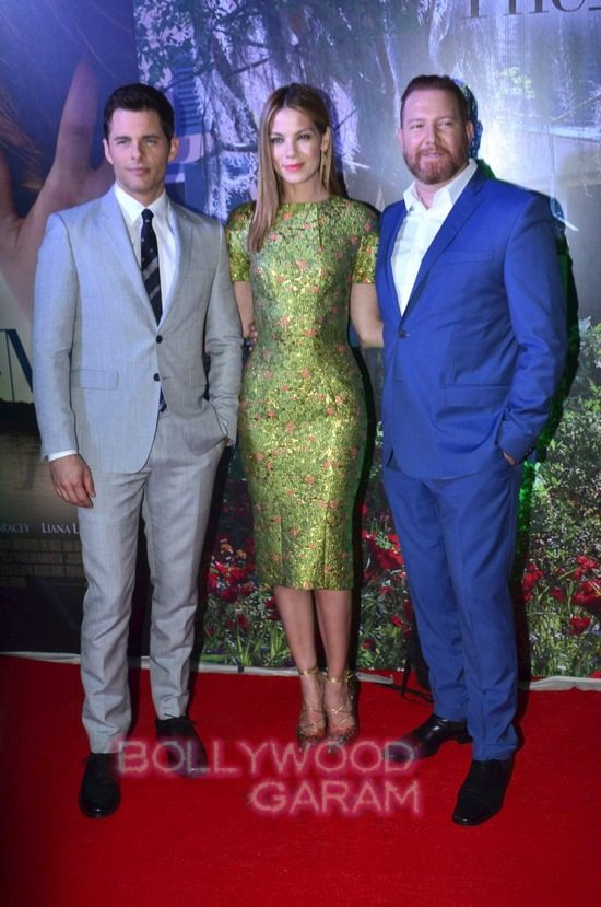Best of me premiere mumbai_Michelle Monoghan and James Marsden-4
