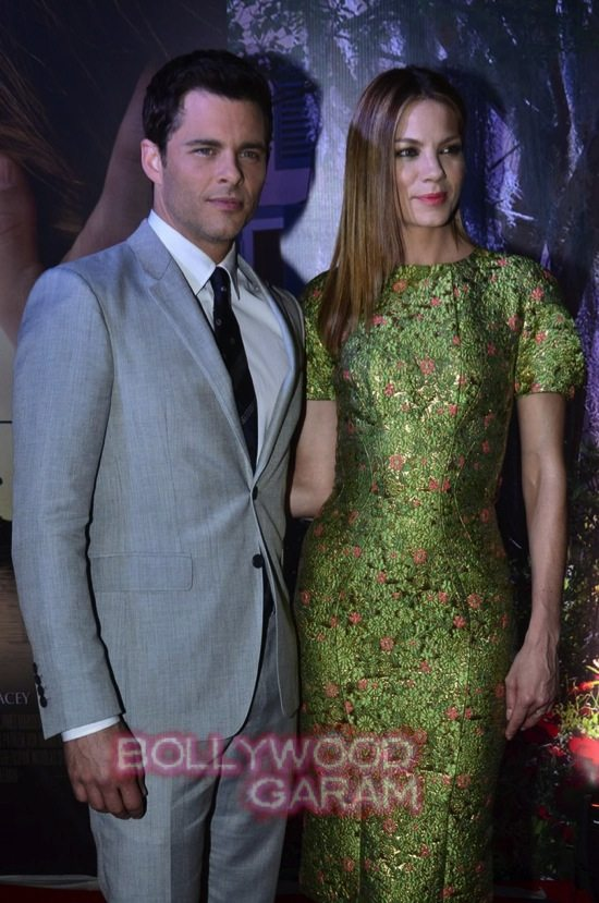 Best of me premiere mumbai_Michelle Monoghan and James Marsden-6