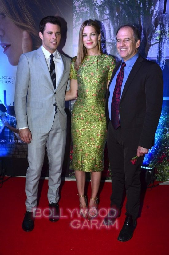 Best of me premiere mumbai_Michelle Monoghan and James M-7