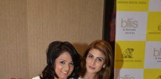 Riddhima Kapoor and Richa Anirudh at Dr Jayshree Sharad's book launch