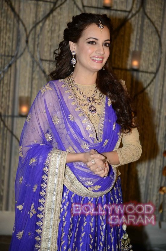 Dia Mirza makes for a stunning Indian bride