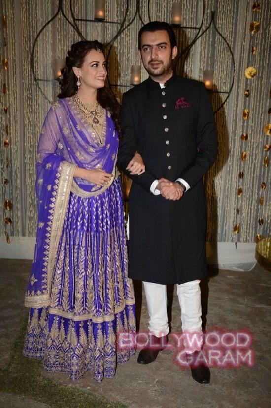 Dia Mirza & Sahil Sangha-1