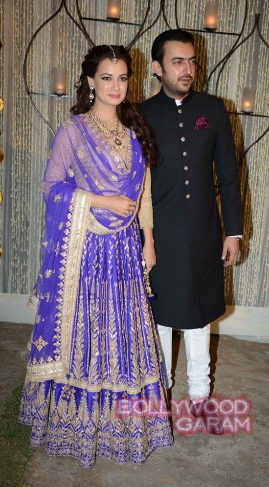 Dia Mirza & Sahil Sangha-2