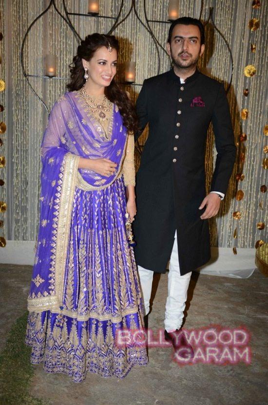 Dia Mirza & Sahil Sangha-4