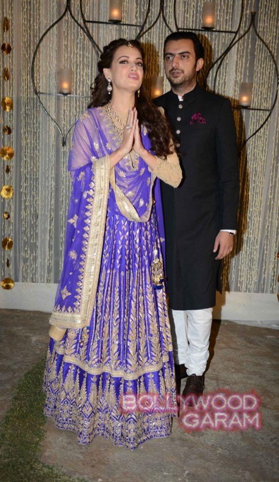 Dia Mirza & Sahil Sangha-5