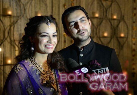 Dia Mirza & Sahil Sangha-6