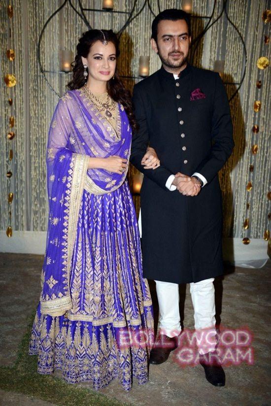Dia Mirza &Sahil Sangha