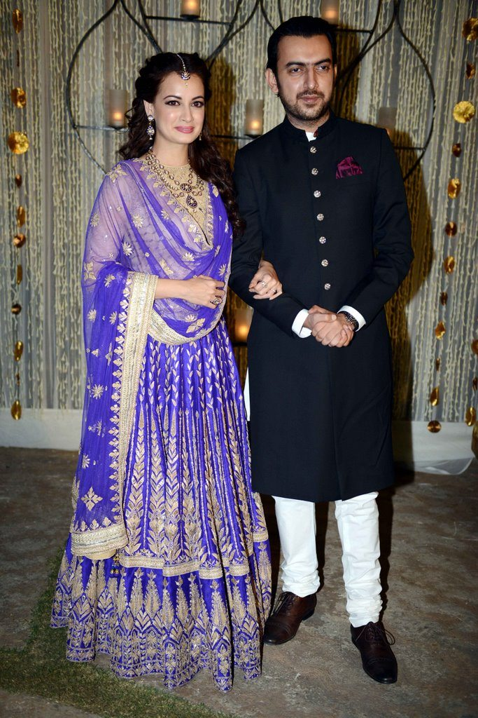 Dia mirza engagement