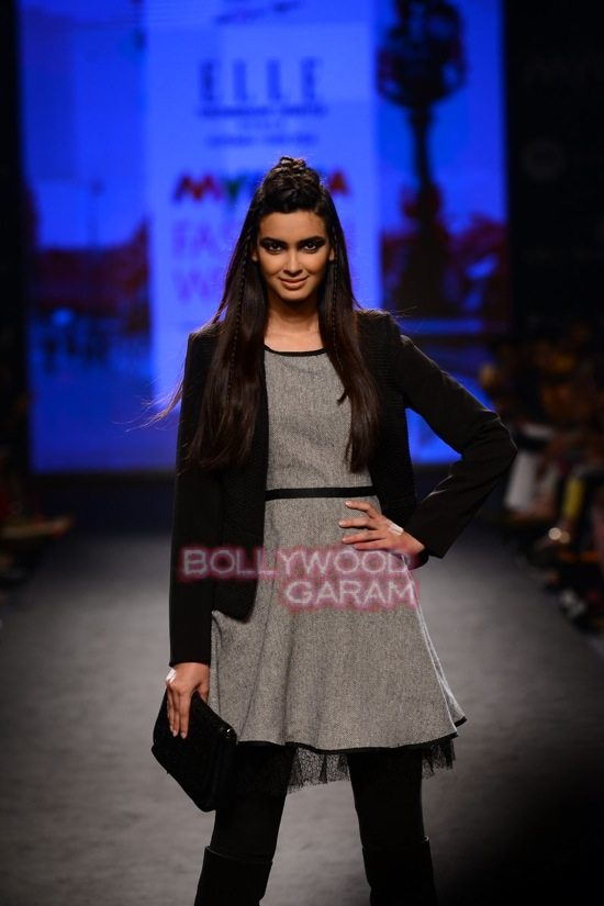 Diana Elle Myntra Fashion Weekend 2014-2