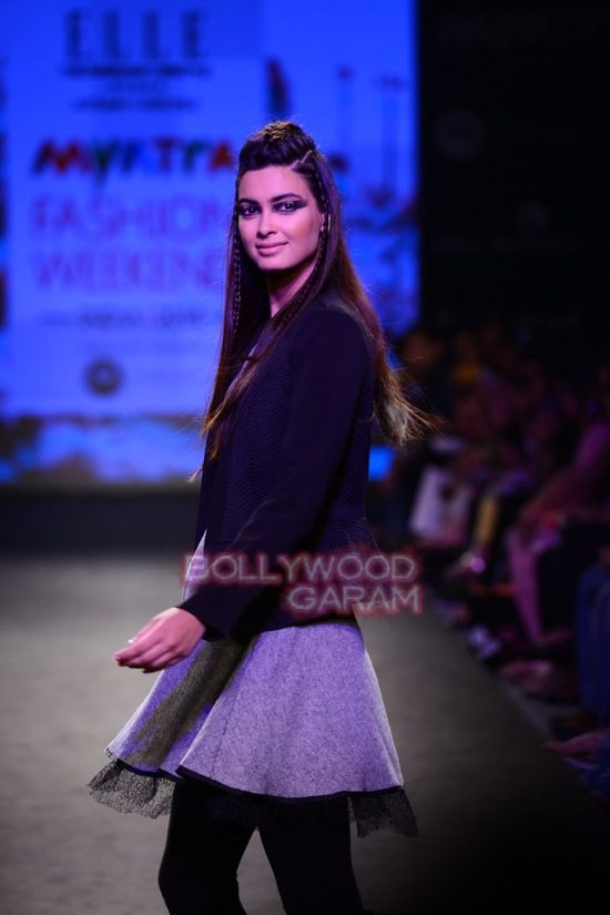 Diana Elle Myntra Fashion Weekend 2014-5