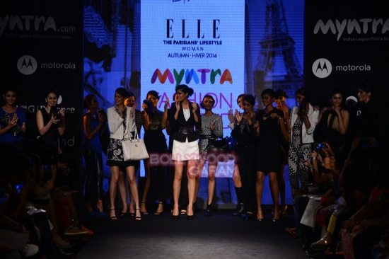 Diana Elle Myntra Fashion Weekend 2014-6