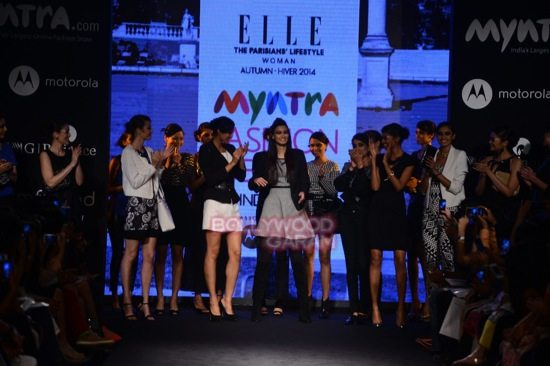 Diana Elle Myntra Fashion Weekend 2014-7